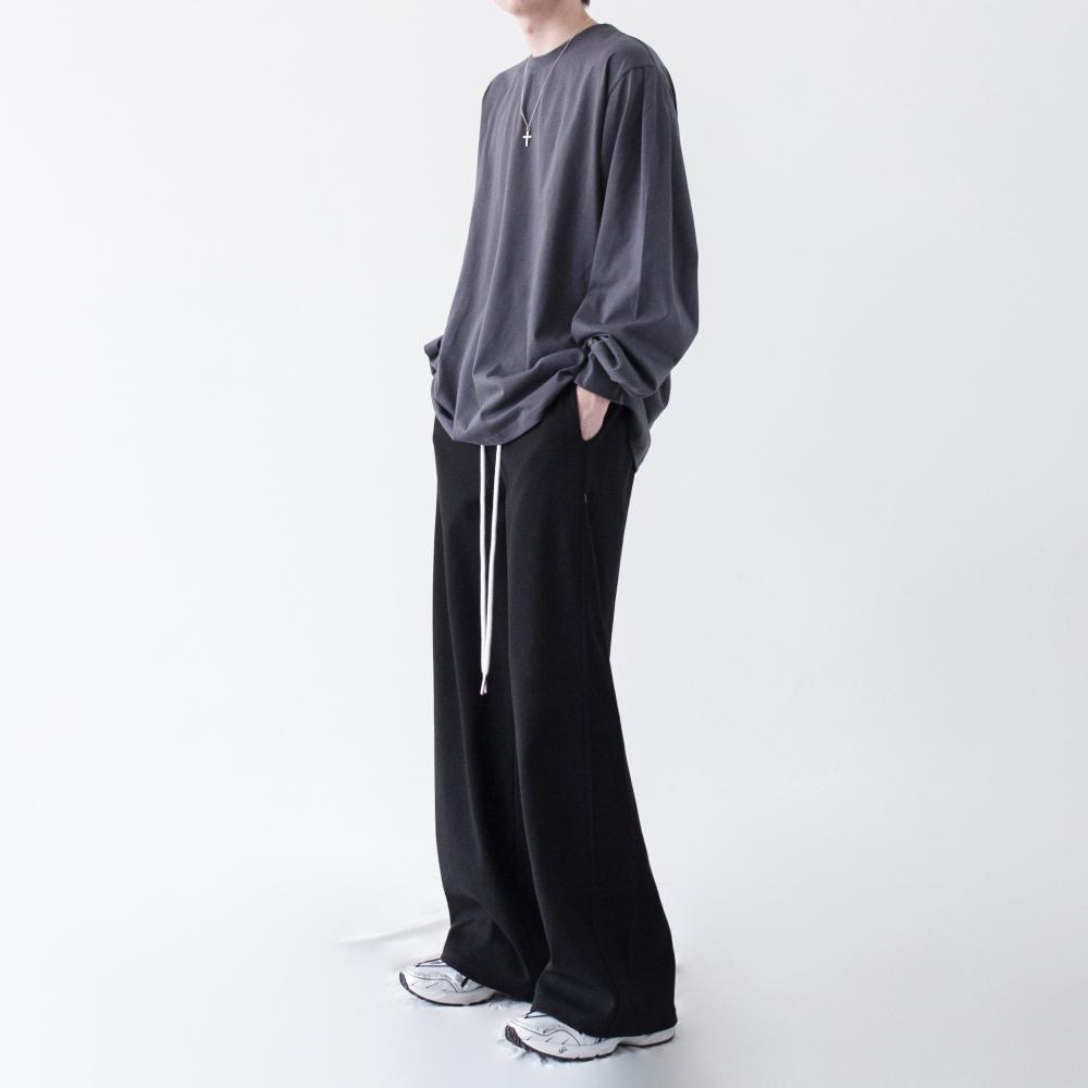 긴팔 티셔츠 모델 착용 이미지-S1L16
