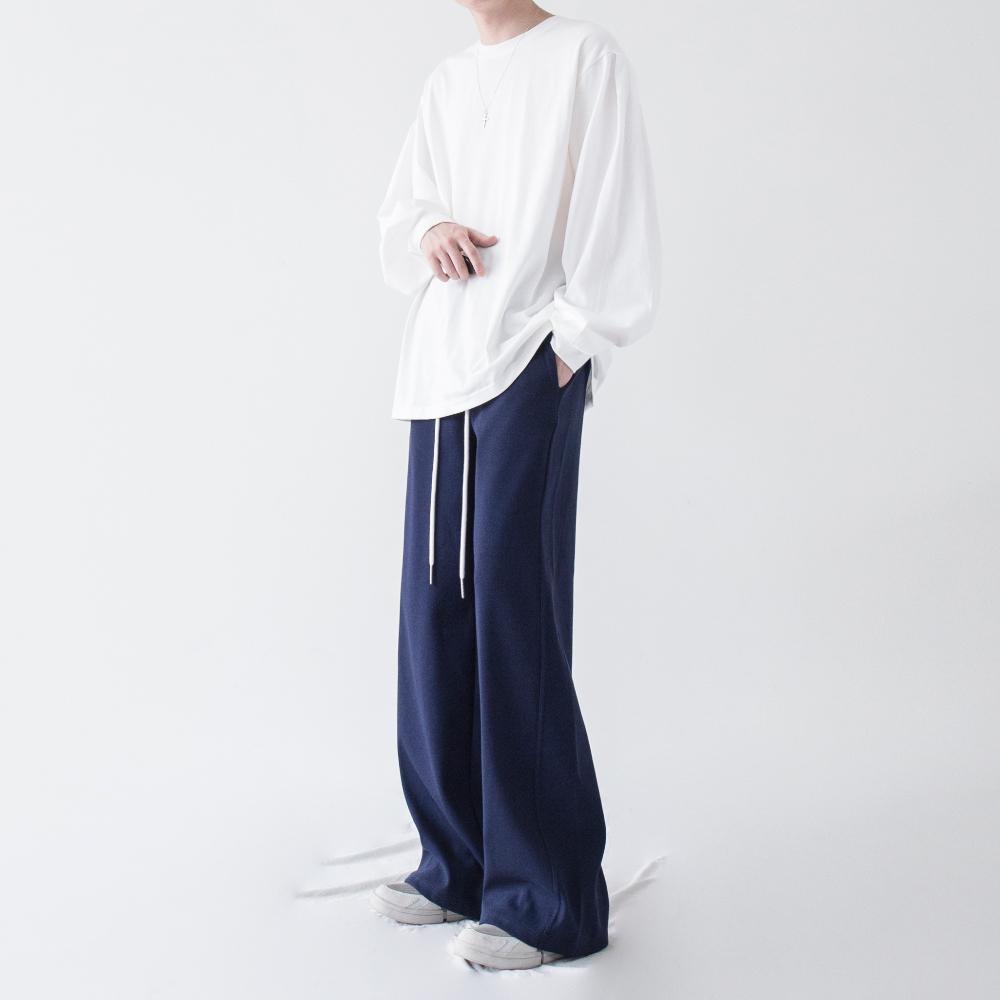 긴팔 티셔츠 모델 착용 이미지-S1L26